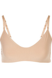 Butter stretch-jersey soft-cup bra