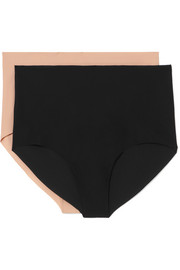 Set of two stretch briefs