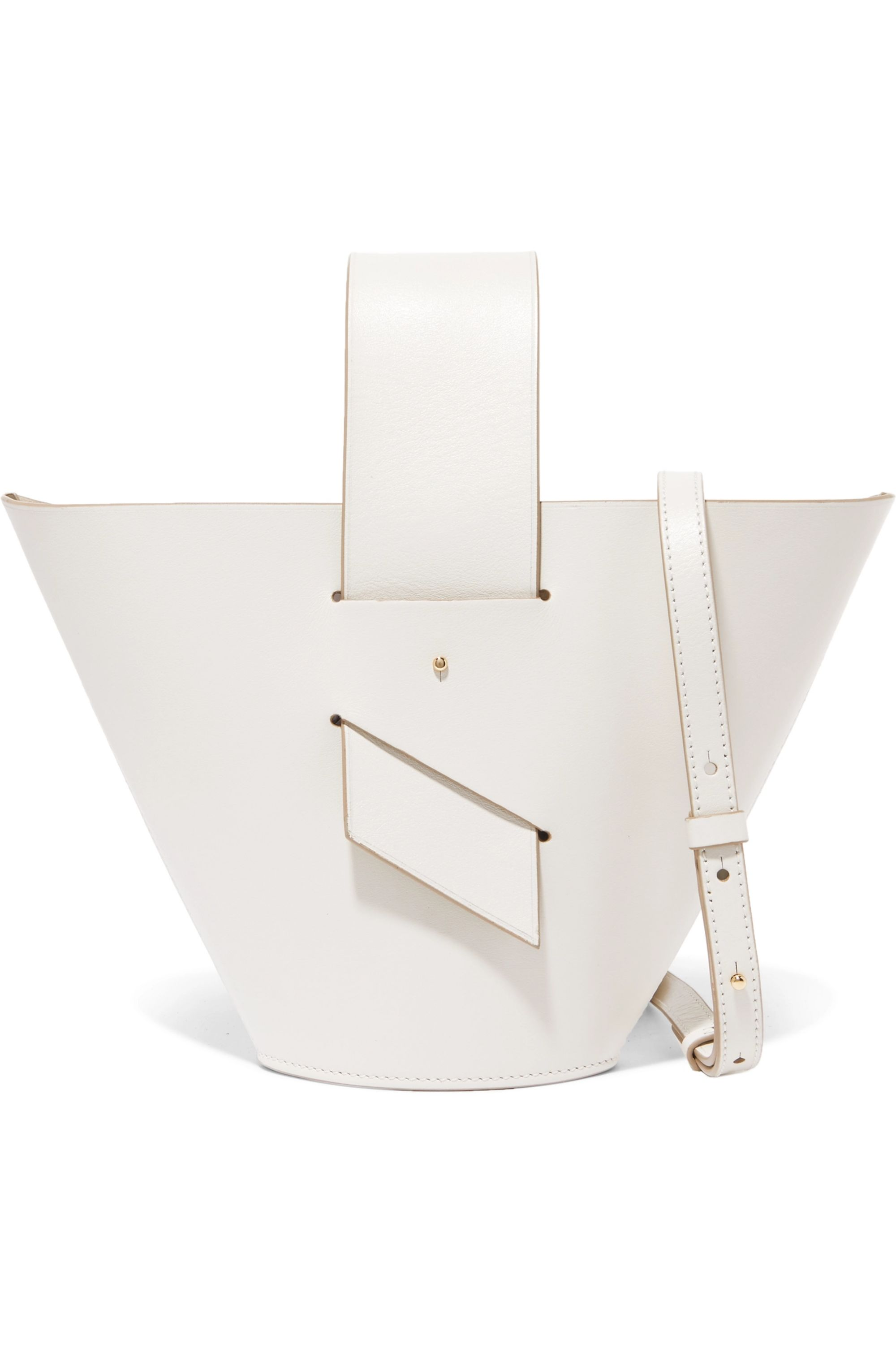 Carolina Santo Domingo Amphora leather tote
