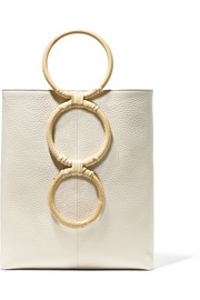 Carolina Santo Domingo Petra mini textured-leather tote