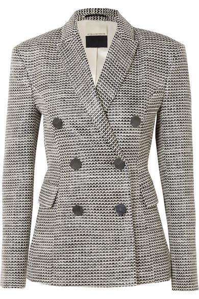 Zozima Doppelreihiger Blazer Aus Tweed Aus Einer Baumwollmischung by By Malene Birger