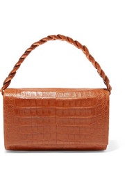Nancy Gonzalez Carrie crocodile shoulder bag
