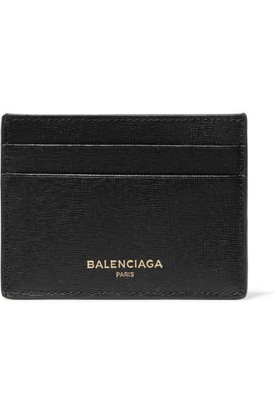 Balenciaga Kartenetui aus strukturiertem Leder