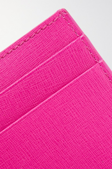 Neuer Günstiger Preis Balenciaga Kartenetui aus strukturiertem Leder Billig Verkauf 2018 Neue TrE84