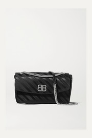 Balenciaga BB jacquard shoulder bag