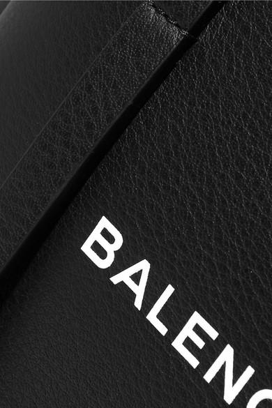Balenciaga XS bedruckte Tote aus strukturiertem Leder