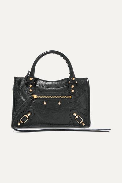01b40af9b2 Balenciaga | Classic City mini textured-leather tote | NET-A-PORTER.COM