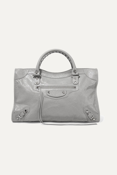 Classic City Textured Leather Tote by Balenciaga