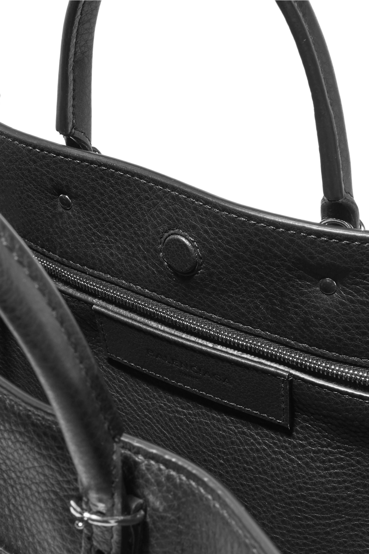Balenciaga Papier A6 small textured-leather tote