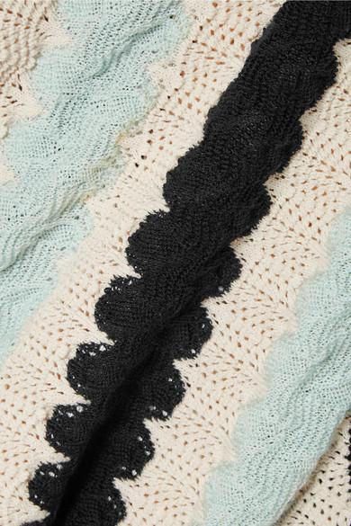 CALVIN KLEIN 205W39NYC Oberteil aus Strick in Häkeloptik aus einer Woll-Baumwollmischung Rabatt Neueste Spielraum Geringe Versandgebühr Günstig Kaufen Vermarktbare Günstige Angebote Wie Viel Zu Verkaufen 0Db2YR
