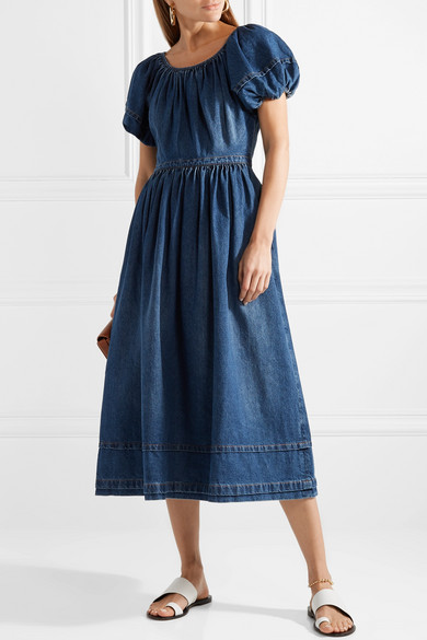Co Midikleid aus Denim