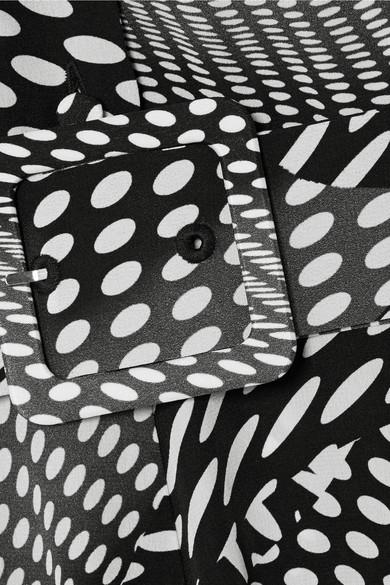 Grau-Outlet-Store Online Co Midikleid aus gepunktetem Crêpe de Chine aus Seide mit Schluppe Freies Verschiffen Outlet-Store Billige Browse 2018 Online g8SkK10Se