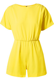 Ashlea crepe playsuit