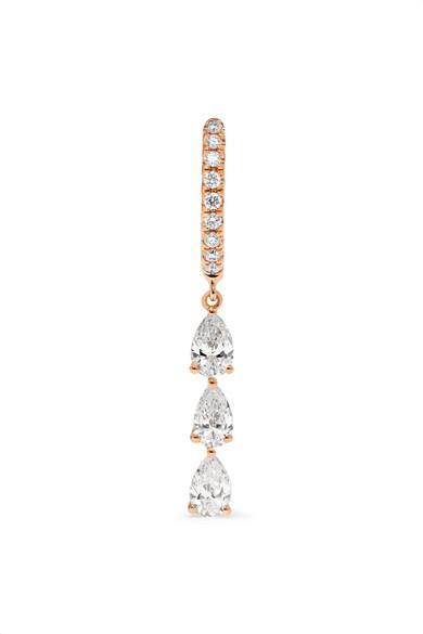 Anita Ko - 18-karat Rose Gold Diamond Earring