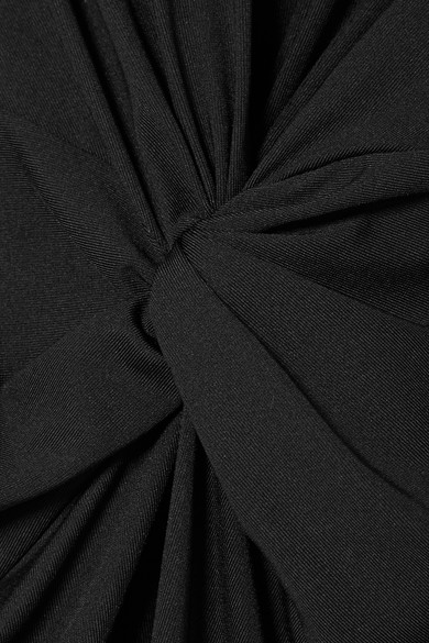 Theory Midikleid aus Stretch-Jersey mit Twist-Detail