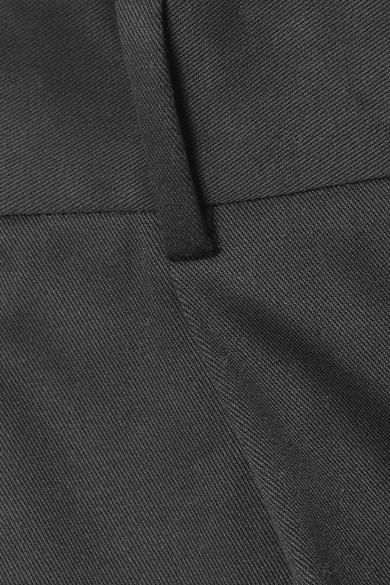 Theory Shorts aus Twill aus einer Baumwollmischung mit Falten