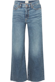 W006 Musa mid-rise wide-leg jeans