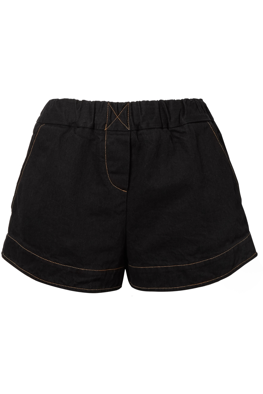 SIMON MILLER Nyssa denim shorts