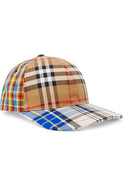 Burberry Tartan cotton-canvas baseball cap