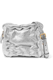 Chubby Cube leather shoulder bag
