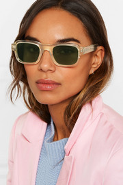 + Enfants Riches Déprimés The Isolar square-frame acetate sunglasses