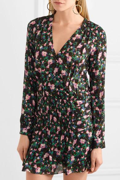 Naomi printed silk dress Veronica Beard XSYvsFfS