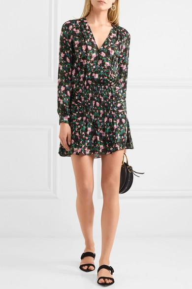 45f1bba2d03 Naomi floral-print silk mini dress