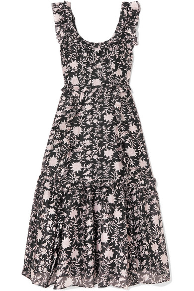 0a03e6a989 Ulla Johnson. Brigitte floral-print cotton and silk-blend ...