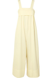 Iggy brushed Tencel, linen and cotton-blend twill jumpsuit