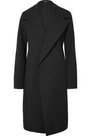 Bassike Cotton-blend twill coat