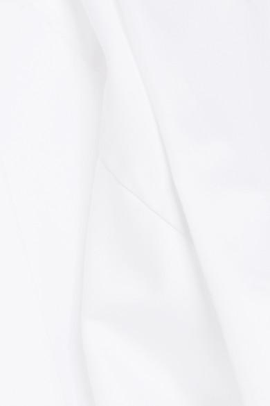 Norma Kamali Jumpsuit aus Baumwolle mit Gürtel
