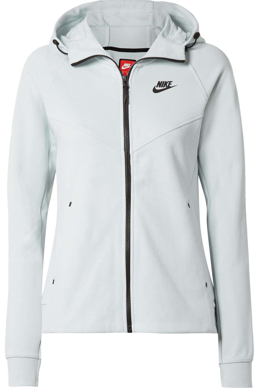 Nike Tech Fleece cotton-blend jersey hoodie