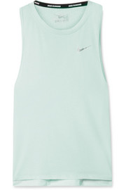 Tailwind perforated Dri-FIT stretch-jersey tank