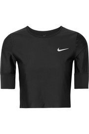 Run Division cropped Dri-FIT stretch top