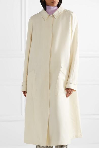 Mansur Gavriel Oversized-Trenchcoat aus Canvas Top-Qualität Zum Verkauf Ebay Günstiger Preis Billig Verkauf Exklusiv Sonnenschein Liefern Billige Online kMVDdlbj