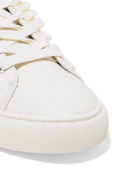 Tory Burch Sneakers With Stripes Of Leather