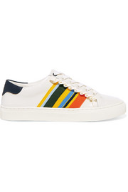 Tory Burch Striped leather sneakers