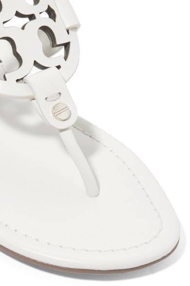 0ba7751b486e Miller logo-embellished leather sandals.  100. Zoom In