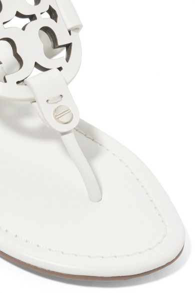Tory Burch | Miller Sandalen Logo aus Leder mit Logo Sandalen b612a6