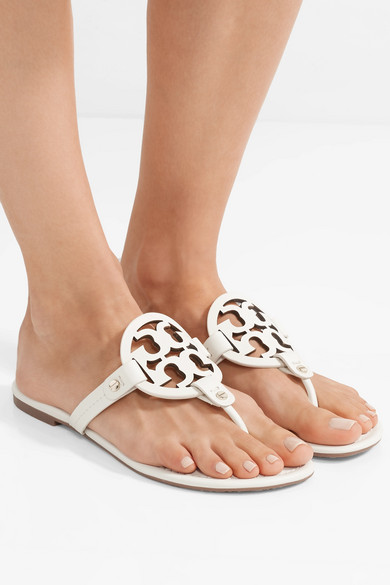 dd0b9eed4c0ee4 Tory Burch. Miller logo-embellished leather sandals