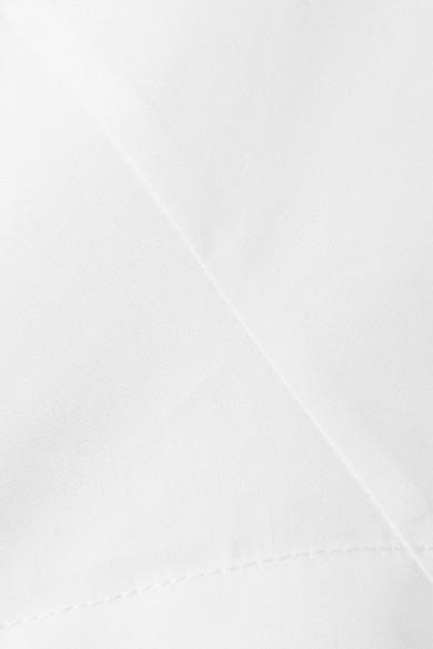Diane von Furstenberg Verkürztes Oberteil aus Baumwollpopeline