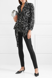 Jogger stretch-ponte stirrup leggings