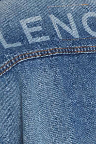 Balenciaga Like A Man Jeansjacke in Oversized-Passform