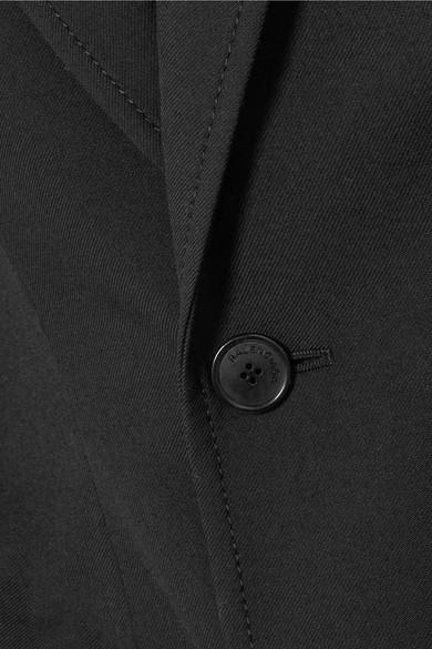 Balenciaga Blazer aus Gabardine aus einer Wollmischung