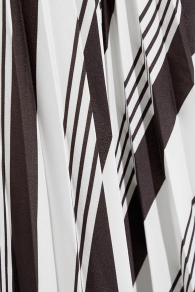 Balenciaga Bedruckter Faltenrock aus Crêpe