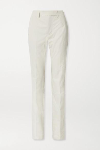 Balenciaga Le Monsieur Pantalon Droit En Toile De Coton