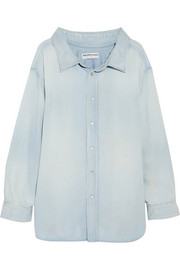 Balenciaga Cotton-chambray shirt