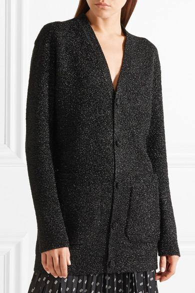 Balenciaga Oversized-Cardigan aus Lurex®