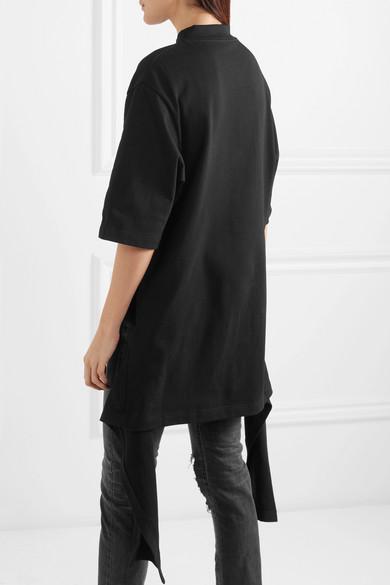 Balenciaga Drapiertes Oberteil aus Baumwoll-Jersey