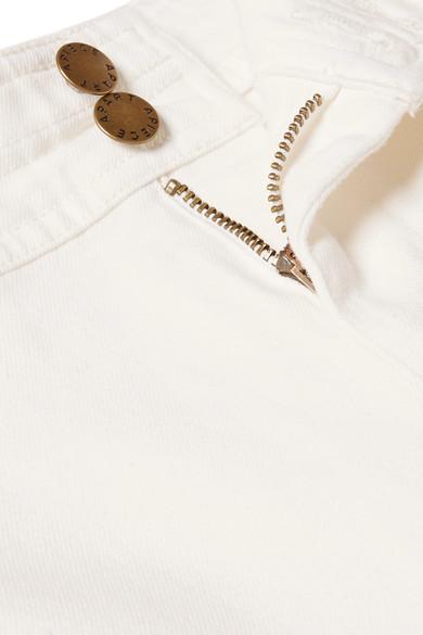 APIECE APART Merida verkürzte Hose mit weitem Bein aus Twill aus einer Baumwollmischung